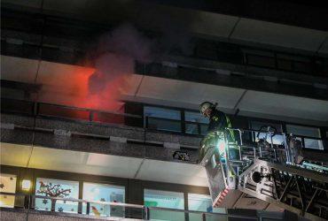 Feuerwehr fährt große Übung an der Kinderklinik