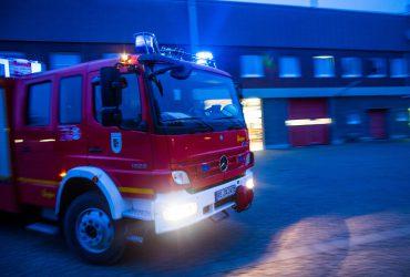 Großbrand in Oer-Erkenschwick